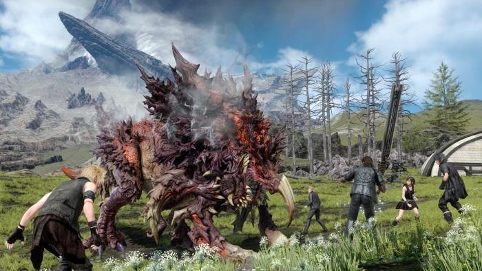 Final Fantasy 15 permitirá treinar com Aranea