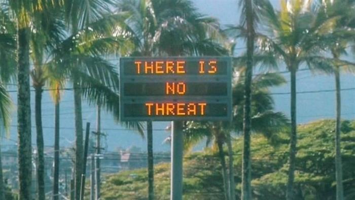 Não há ameaça