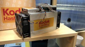 Máquina da Kodak para minerar bitcoin é barrada pelos EUA