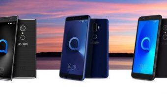 Alcatel lança smartphones baratos com tela 18:9 e câmera dupla
