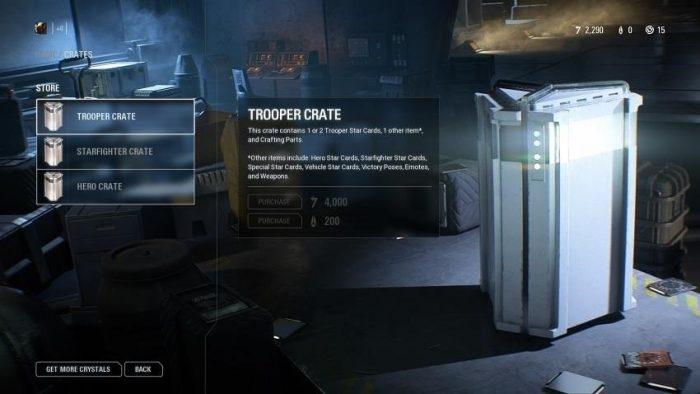 Loot box de Battlefront II, da Electronic Arts