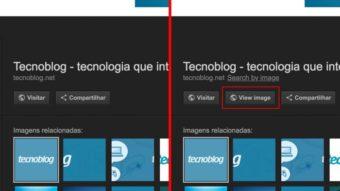 """Como trazer o botão """"Visualizar Imagem"""" de volta ao Google Imagens"""