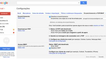 Como encaminhar ou redirecionar vários e-mails no Gmail