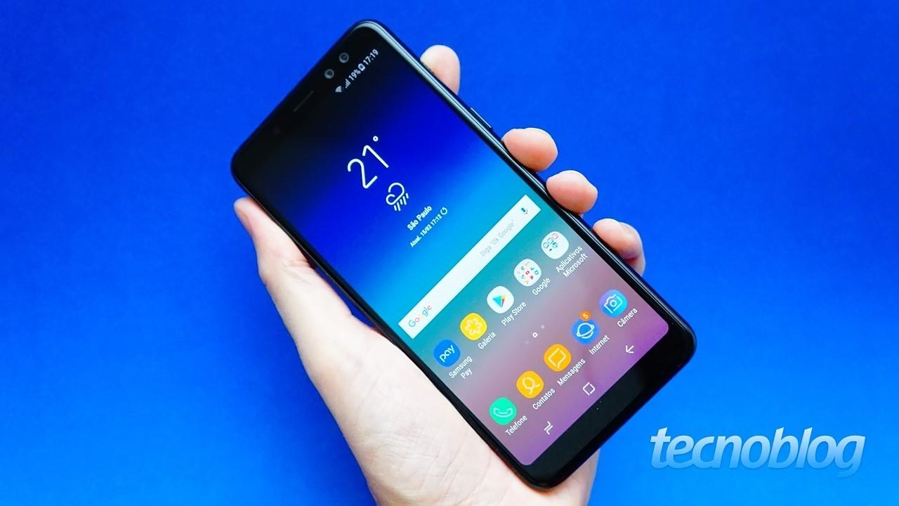 978b865738805 Review Galaxy A8  parece até um topo de linha  análise vídeo ...