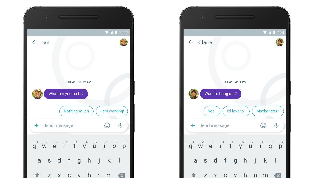 Google prepara respuestas automáticas que funcionan con WhatsApp y Messenger