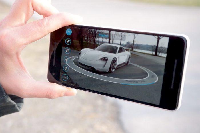 Google lleva la realidad aumentada ARCore a 13 modelos Android 4