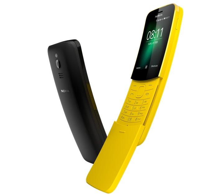 Nokia 8110 ou Nokia 'Banana'
