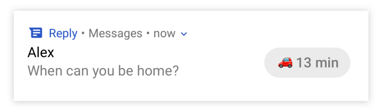 Google prepara respuestas automáticas que funcionan con WhatsApp y Messenger 3