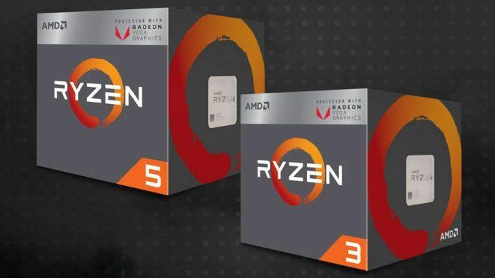 Ryzen 3 2200G e Ryzen 5 2400G