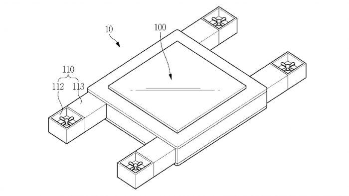 Samsung patenteia tela voadora que pode ser controlada com os olhos – Tecnoblog