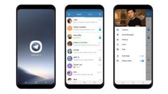 Telegram X é um app de mensagens mais rápido e feito do zero