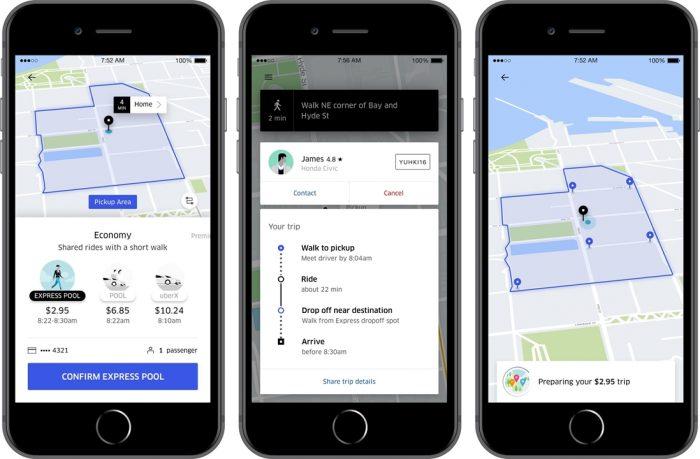 Uber Express Pool