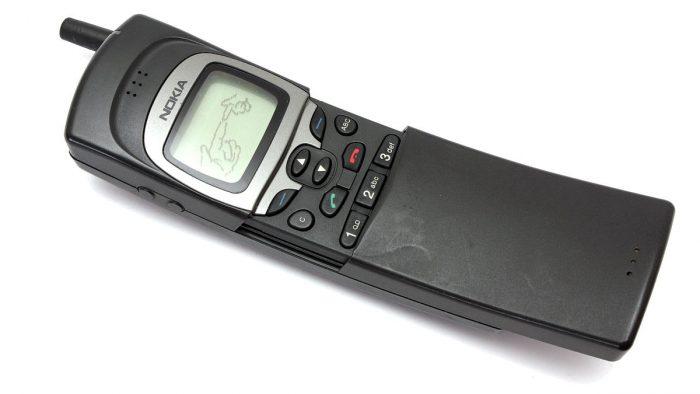 O antigo Nokia 8110 (por Wikipedia)