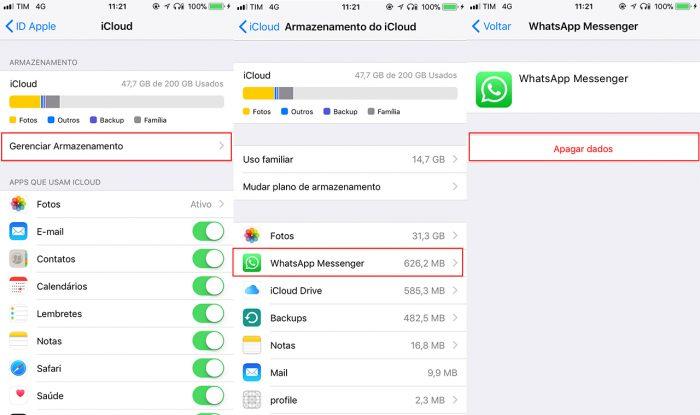 recuperar mensagens apagadas whatsapp iphone 4s