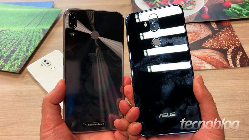 1533a49b7 Tanto o Zenfone 5 quanto o Zenfone 5 Selfie não têm preço nem previsão de  lançamento