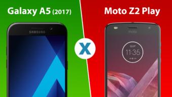 Comparativo: Galaxy A5 (2017) ou Moto Z2 Play, qual é melhor?