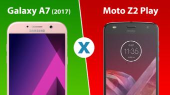 Comparativo: Galaxy A7 (2017) ou Moto Z2 Play, qual é melhor?