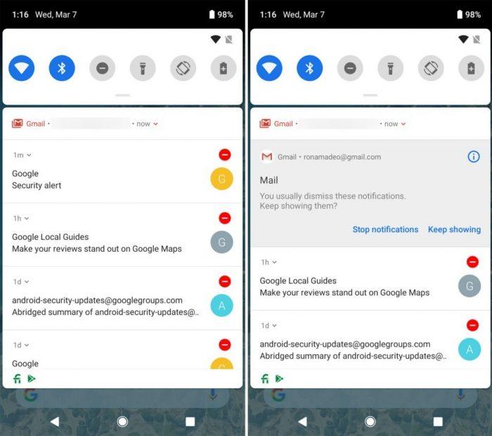 As pequenas novidades na primeira prévia do Android Pie