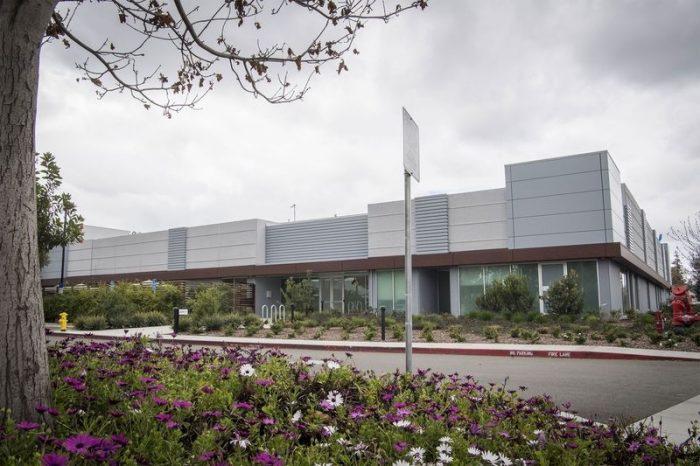 Suposta fábrica da Apple em Santa Clara