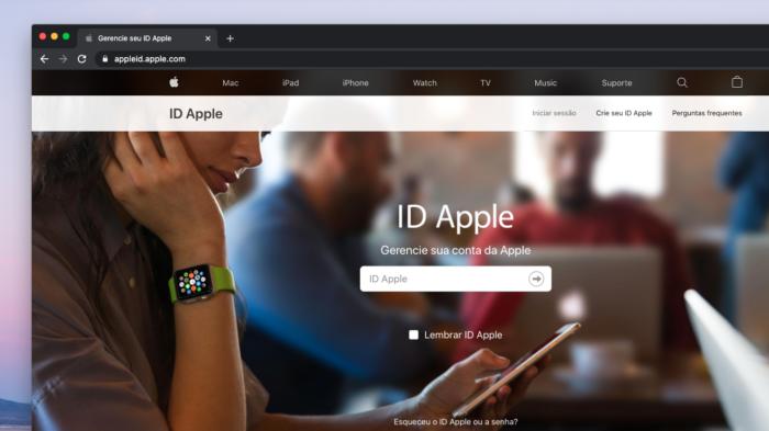 Apple ID (Imagem: Reprodução/Apple)