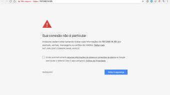 """Google Chrome: """"sua conexão não é particular"""". O que fazer?"""