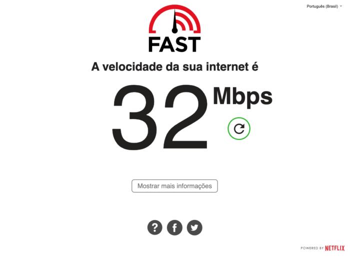 Como medir a velocidade da internet na Netflix
