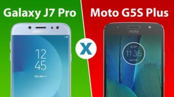 Comparativo: Galaxy J7 Pro ou Moto G5S Plus, qual é melhor?