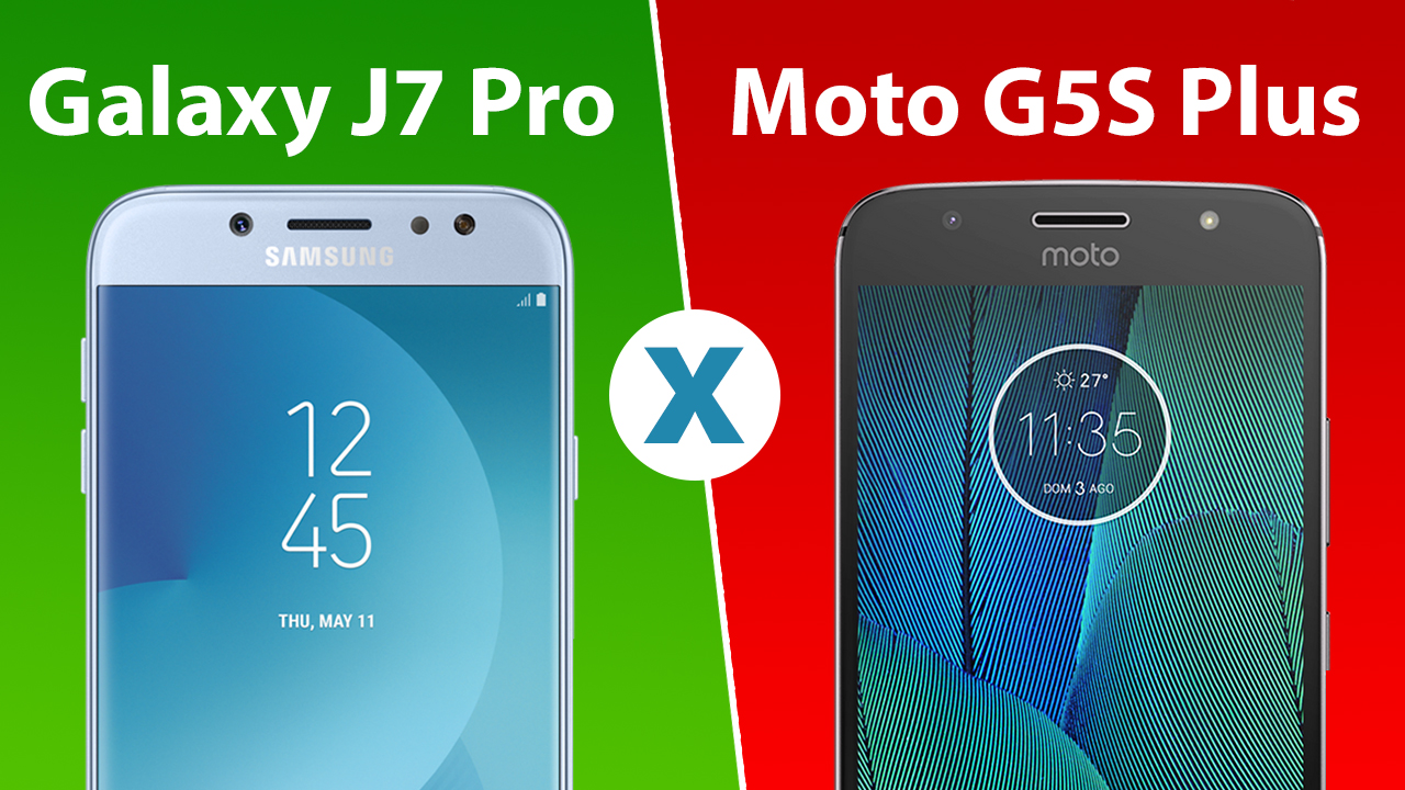 Comparativo: Galaxy J7 Pro ou Moto G5S Plus, qual é melhor