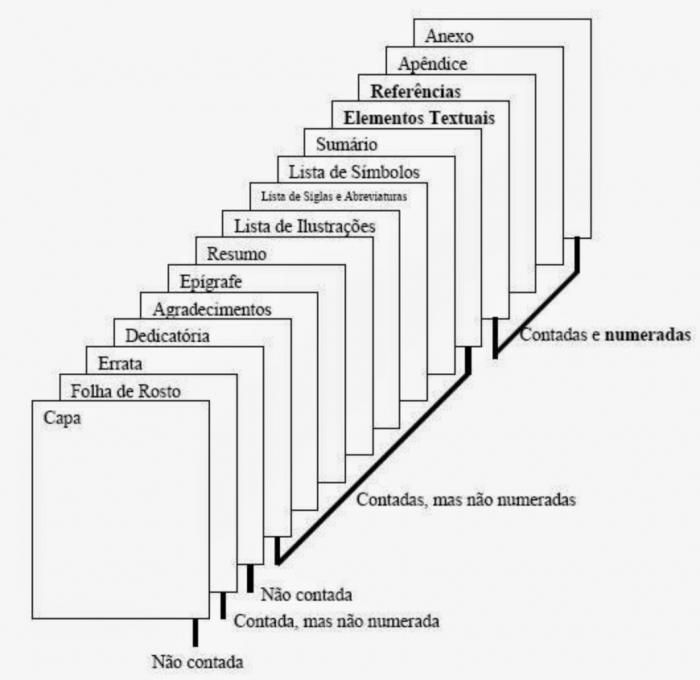 Como formatar monografia nas normas da ABNT - Paginação