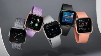 Fitbit tenta de novo: Versa é um smartwatch mais bonito e barato
