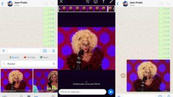 Como fazer ou enviar GIFs direto no WhatsApp pelo iPhone ou Android