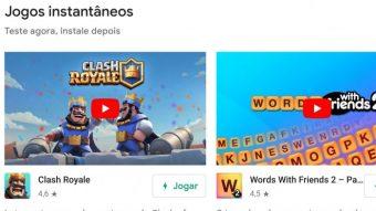 Google permite experimentar alguns jogos para Android sem instalá-los