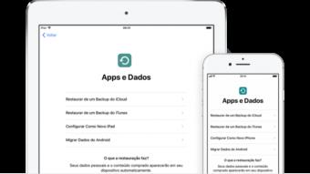 Como restaurar um backup do iPhone pelo iCloud ou iTunes
