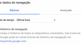 Como limpar o histórico de navegação no Chrome, Firefox ou Safari