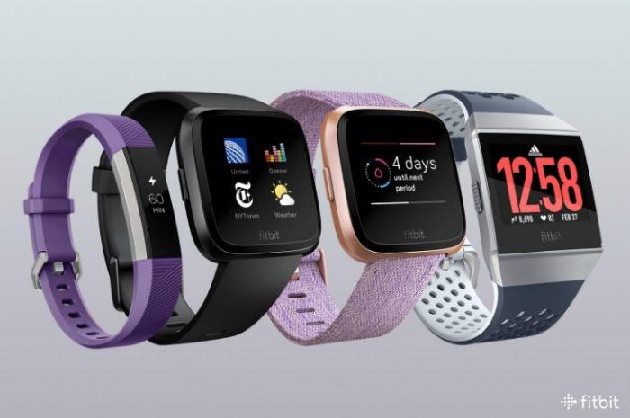 Fitbit Ace, Versa, Versa com pulseira especial e Ionic