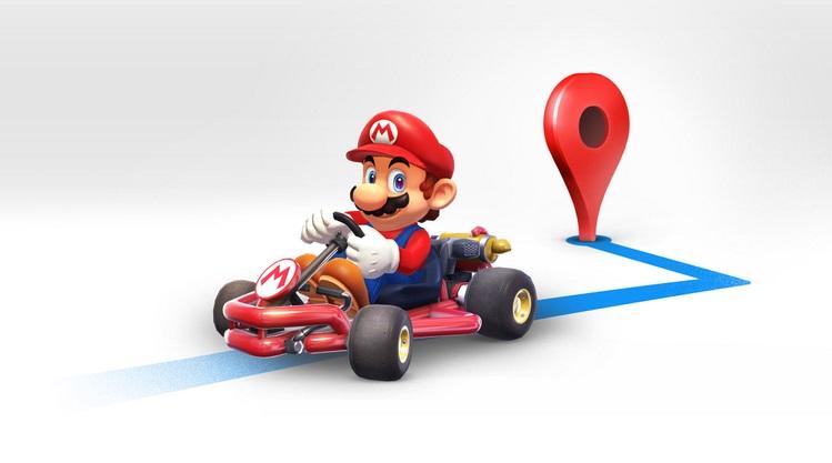 Google Maps obtiene un modo especial para celebrar el Día de Mario