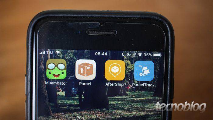 Apps permitem que você rastreie várias encomendas ao mesmo tempo (Imagem: Tecnoblog)