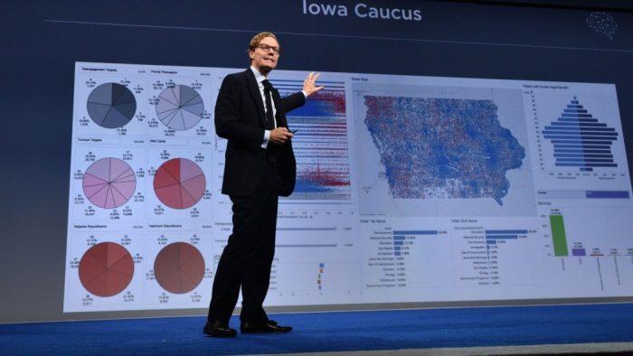 Alexander Nix, CEO da Cambridge Analytica (Foto: BBC)
