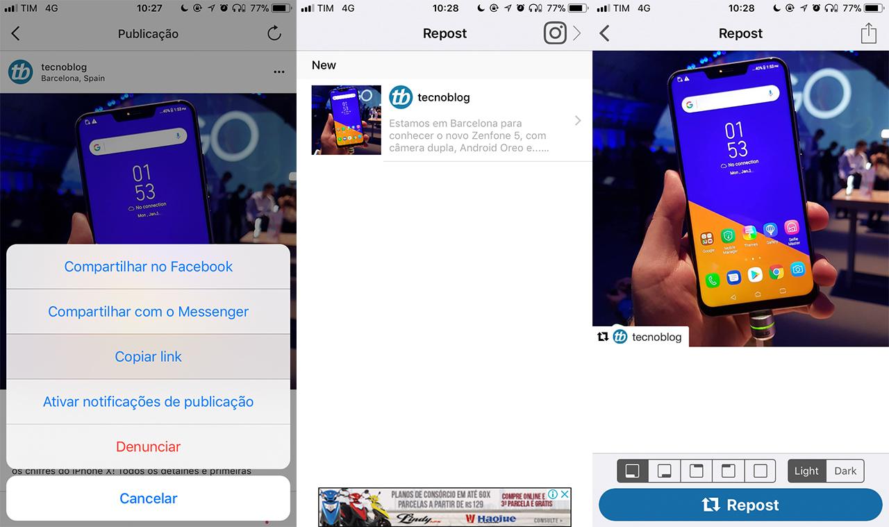 aplicativo para baixar videos e fotos do instagram no iphone