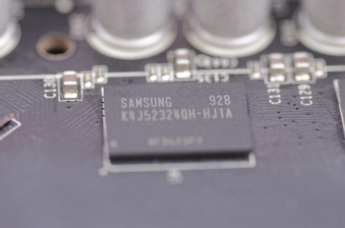 Samsung - chip NAND