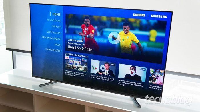 TV Samsung Q6F