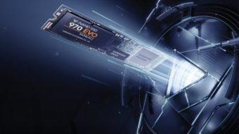SSDs Samsung 970 trazem mais velocidade e até 2 TB