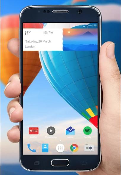 Tela Transparente App