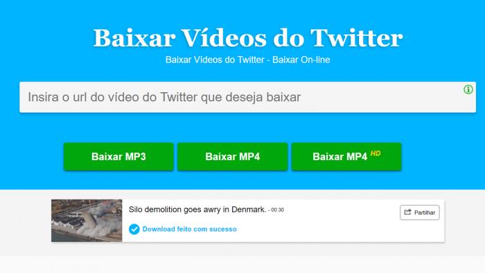 descargar videos de twitter en mp4 y mp3 en línea fácil & gratis