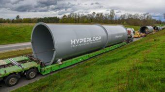 Hyperloop terá primeira pista de testes do mundo em escala real