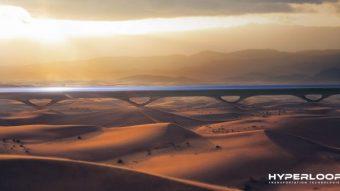 A primeira linha de transporte Hyperloop pode estrear em 2020