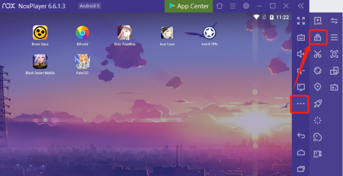 Emuladores de Android para Windows