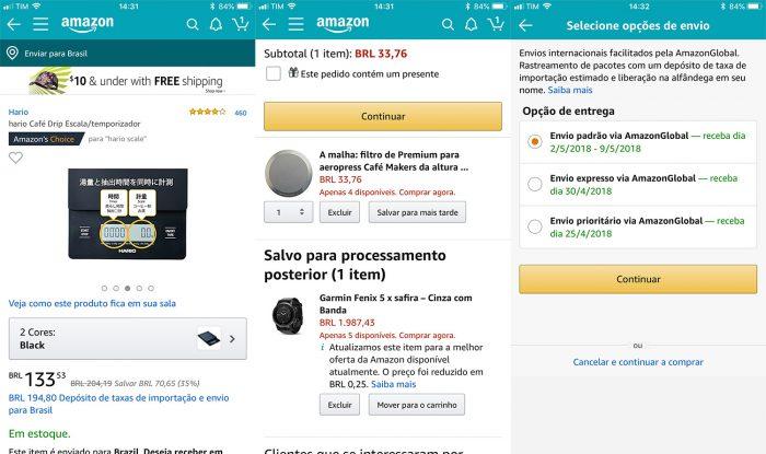 71afcd7ee Nem todos os produtos da Amazon dos Estados Unidos estão disponíveis na  loja internacional