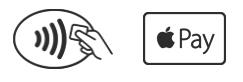 Símbolos de pagamento por NFC