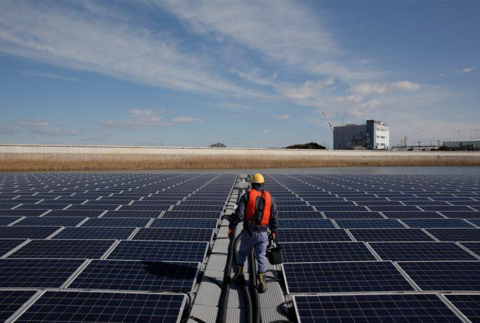 Painéis solares da japonesa Ibiden, uma das fornecedoras da Apple